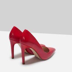 Escarpins rouges #ZARA #RED