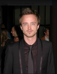 Aaron Paul- Breaking Bad. If you haven't watched this show, I FEEL BAD FOR YOU SON