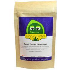 Hippie Butter, Salted Toasted Hemp Seeds, 4 oz (113 g) - iHerb.com