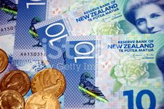 New Zealand Money (NZD); Image Now, New Image, Dollar Coin, New Zealand, Coins, Royalty Free Stock Photos, Money, News, Rooms