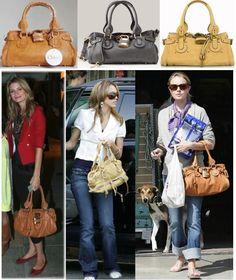 Jessica Alba is among the celebrities who wear the Chloe Paddington. 4d143588b4df8