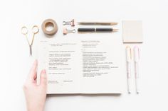 My Creative Process: How I Plan a Year in Advance