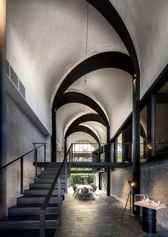 Park + Associates designed this architect's office in Singapore.