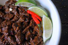 Daging setan (duivels rundvlees) | Eetspiratie  Pittig Indisch rundvlees