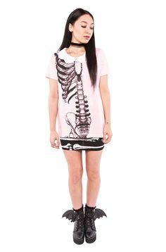 Wishbone Girly Tee
