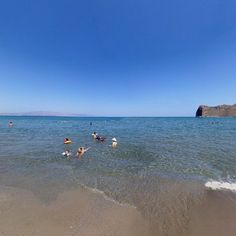 panorama photo from Chania by Saša Stojanović. Agia Marina is a town on the island of Crete in Greece. Since the 2011 local government reform. Greece, Colours, Island, History, Country, Beach, Places, Water, Travel