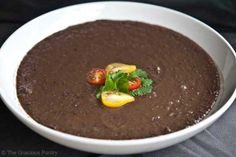 Clean Eating Recipes | Clean Eating Black Bean Soup