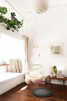 Cozy Corner - 15 Indoor Hammocks That Are SO Cool - Photos