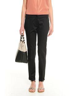 Pantalone in cotone EFFLUVI 36 Suits, Fashion, Italian Fashion, Moda, Fashion Styles, Suit, Wedding Suits, Fashion Illustrations