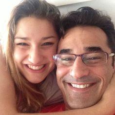 Luciano Szafir posa coladinho e paparica Sasha: 'Minha princesa'