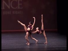 Lost Song Contemporary Trio Dance - Olivia, Vivian, Krizia - Rhythm Dance Competition - YouTube