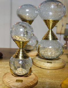 SAND TIMER - HOURGLASS - sandglass - sand timer - sand watch - sand clock - Hour Glass Timers - Kitchen Timer - vintage timer