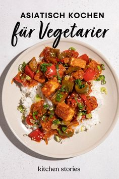 Goldbraun gebratener Tofu trifft auf eine leckere süß-sauer Soße. Bei diesem Gericht kannst du ganz nach Belieben Gemüsesorten hinzufügen oder austauschen. Schau' dir jetzt unser Rezept an! #schnellerezepte #vegetarischerezepte #tofurezepte #asiatischkochen