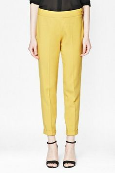 FEATHER LIGHT TAILORED TROUSERS, $148, FRENCHCONNECTION.COM