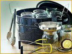 Water Bath Canning Equipment