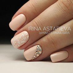 Wedding nail ideas #WeddingNails
