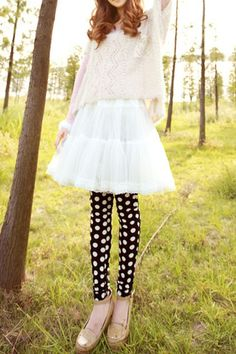 0c9c1f7e88b 404 Error - Oasap High Street Fashion. Polka Dot LeggingsWhite LeggingsWomen s  LeggingsGalaxy PrintOnline Fashion StoresElastic ...