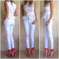 Goooooooo Heat!!  #Prada top, #J_Brand jeans and #Gucci heels. (Shoe Up Close to come). #Padgram