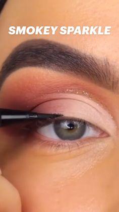 Makeup Is Life, Makeup Eye Looks, Eye Makeup Steps, Smokey Eye Makeup, Cute Makeup, Eyebrow Makeup, Gorgeous Makeup, Skin Makeup, Eyeshadow Makeup