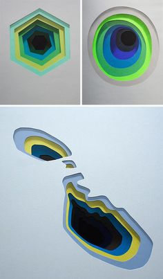 Shadowy Secrets: Colorful Layering Creates Trick 3D Murals