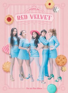Red Velvet - Joy, Yeri, Irene, Seulgi and Wendy Red Velvet 日本, Irene Red Velvet, Red Velvet Dress, Red Velvet Band, Velvet Wallpaper, Red Wallpaper, Mini Albums, Red Velet, Red Velvet Cookies