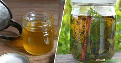 Ein Ölauszug mit deinen liebsten Heilpflanzen und Wildkräutern ist leicht…
