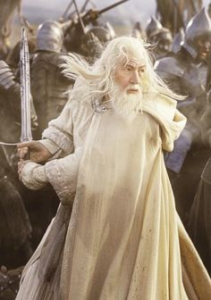 Gandalf the White (Sir Ian McKellan)