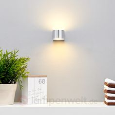 bad LED-Badezimmer-Wandleuchte Marielle in Chrom 9641004