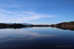 Ein See wie Lackfolie 4809 #Landschaft #See