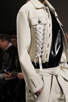 Lsleeve shirt idea // Proenza Schouler Fall 2016 Ready-to-Wear Fashion Show Details