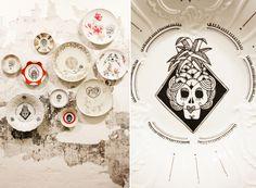 #mrliving #interior #frauines #mexicaninterior #skulls