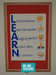 Display classroom rules, procedures, expectations for treating others and supplies, and sub behavior policies in these anchor charts!