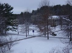 Winter in Houghton