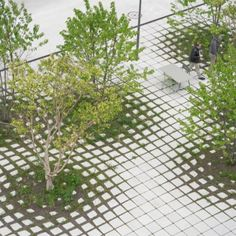 A map of the best contemporary landscape architecture projects from around the world. Landscape Architecture Design, Landscape Plans, Urban Landscape, Parque Linear, Pavement Design, Paving Design, Concrete Paving, Urban Setting, Modern Landscaping