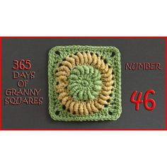 Number 46 of our 365 Days of Granny Squares is up on the blog!  We are trying a…