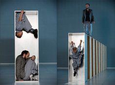 """Sutra"" Sidi Larbi Cherkaoui, scenography by Antony Gormley, 2008, Bruxelles, Belgium"