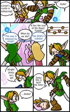 Zelda's Lullaby - the-legend-of-zelda Fan Art