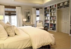 Bedroom by Joni Webb | Paint: Feathered Gray by Pratt & Lambert