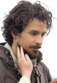 If you think I don't have a weakness for strong men with wild, dark, curly hair, you haven't been paying attention!!!