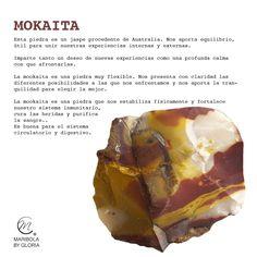 Hoy aprendemos sobre un mineral procedente de las antípodas. -> Mokaita