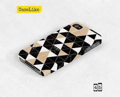 3D #iPhone 5 #Case  Black and white #Geometric #Triangle by #caselike, $22.00