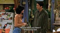 monica geller & ross geller You are in the right place about monica geller outfits party Here we off Tv: Friends, Friends Quotes Tv Show, Friends Moments, Tv Show Quotes, Film Quotes, Phoebe Friends Quotes, Monica Friends, Friends Scenes, Work Friends