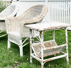 Diy The Easiest Way To Paint Wicker Furniture Isn T With A Brush But Finish Max Super Sprayer Make Your Project Fly By This Easy