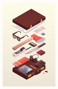 Murders & Executions on Behance - American Psycho