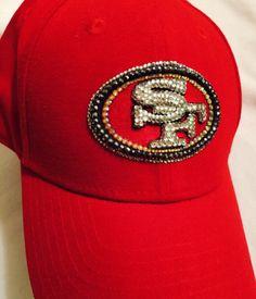 d35a1ab8f9f Custom order for ElizabethPollack 49er hat with Swarovski Crystals