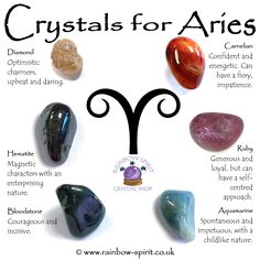 Rainbow Spirit crystal shop, Wadebridge Cornwall, crystal poster of birthstones for Aries Crystal Shop, Crystal Magic, Crystals And Gemstones, Stones And Crystals, Crystals For Kids, Swarovski Crystals, Aries Birthstone, Crystal Healing Stones, Healing Crystal Jewelry