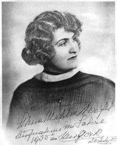 Alma Mahler Werfel, 1935