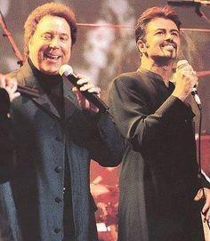 Tom Jones and George Michael