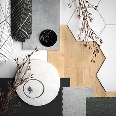 Mood Board Interior, Interior Design Boards, Contemporary Interior Design, Material Board, Favorite Paint Colors, Concept Board, Colour Board, Interior Exterior, Color Pallets