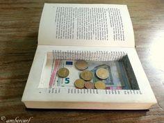 Geld Geheimfach im Buch - Tresor